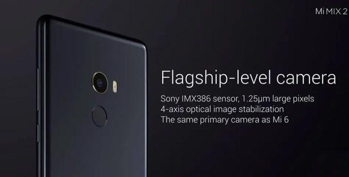 Xiaomi Mi MIX 2 裏 カメラ