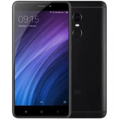 gearbest Xiaomi Redmi Note 4 MTK6797 Helio X20 2.1GHz 10コア BLACK(ブラック)