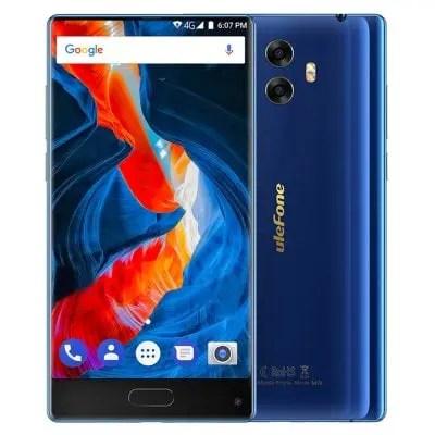 gearbest Ulefone Mix MTK6750T 1.5GHz 8コア BLUE(ブルー)