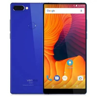 gearbest Vernee Mix 2 MTK6757CD 2.5GHz 8コア BLUE(ブルー)