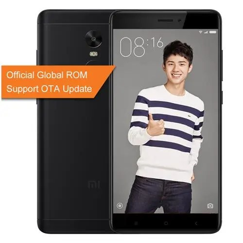geekbuying Xiaomi Redmi Note 4X Snapdragon 625 MSM8953 2.0GHz 8コア,MediaTek Helio X20 2.3GHz Deca Core BLACK(ブラック)
