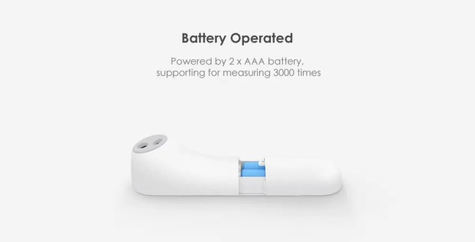 Xiaomi Mi Home iHealth 体温計 商品画像6