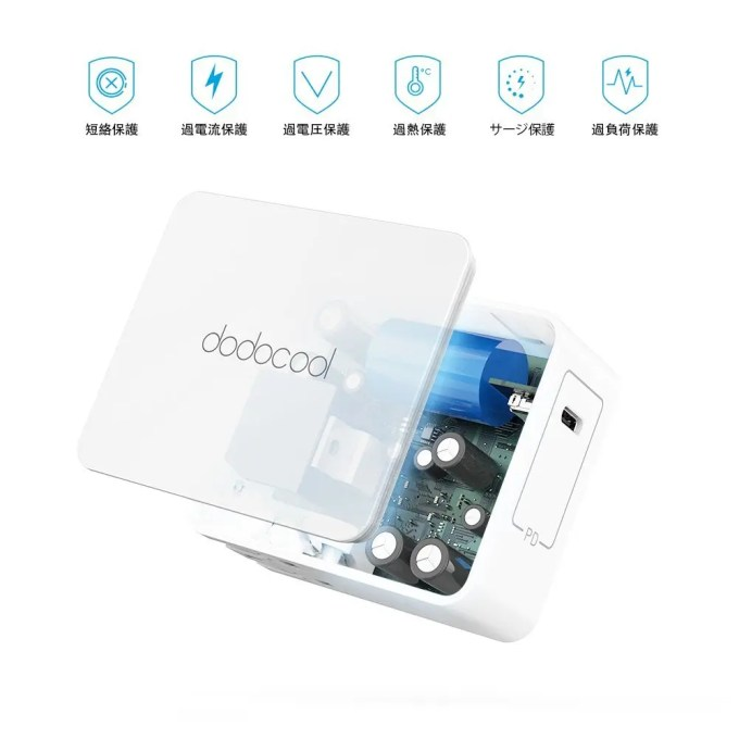 dodocool USB Type-Cアダプタ 中身