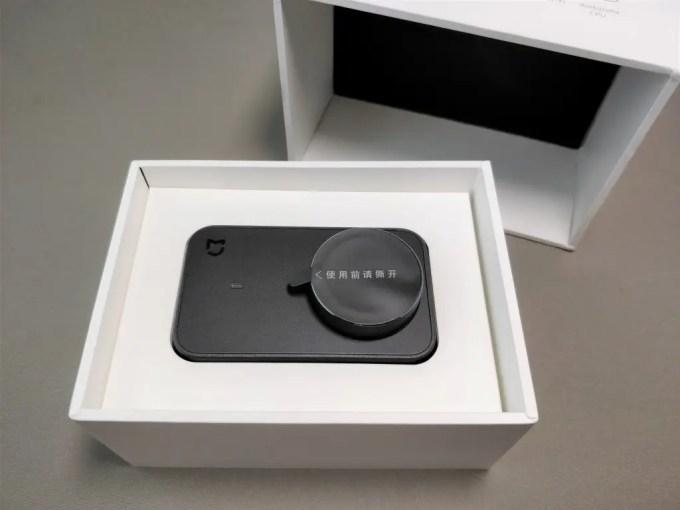 Xiaomi Mijia Camera Mini アクションカメラ  開封