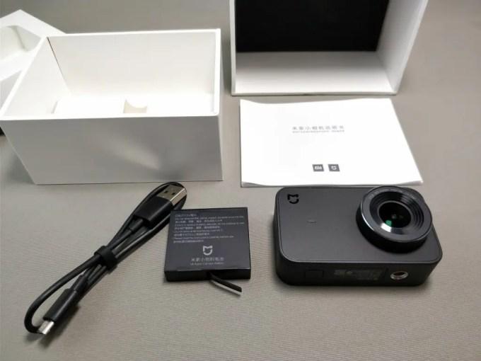 Xiaomi Mijia Camera Mini アクションカメラ  開封 セット