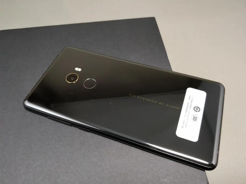 Xiaomi Mi MIX 2 本体 裏