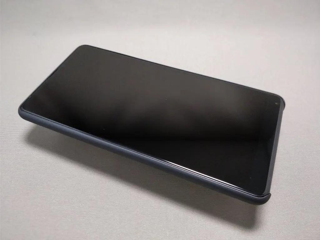 Xiaomi Mi MIX 2 保護ケース装着 表