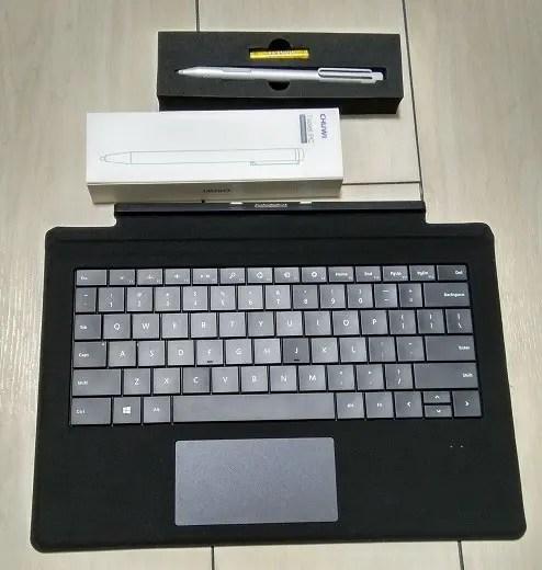 Chuwi SurBook 開封 セット
