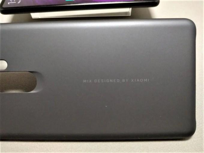 Xiaomi Mi MIX 2 保護ケース装着 Designed