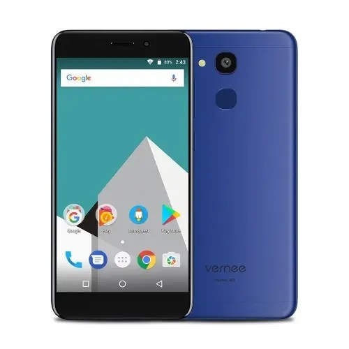 tomtop Vernee M5 MTK6750 1.5GHz 8コア BLUE(ブルー)