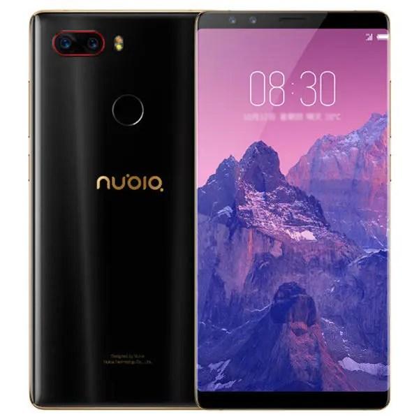 ZTE Nubia Z17 S Snapdragon 835 MSM8998 2.35GHz 8コア