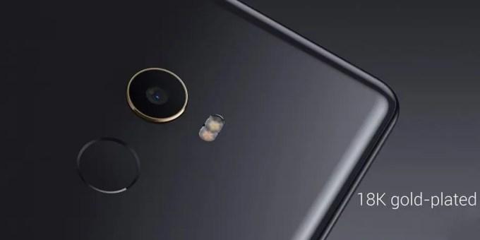 Xiaomi Mi MIX 2  18Kゴールド