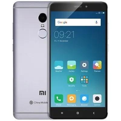 gearbest Xiaomi Redmi Note 4 MTK6797 Helio X20 2.1GHz 10コア GRAY(グレイ)