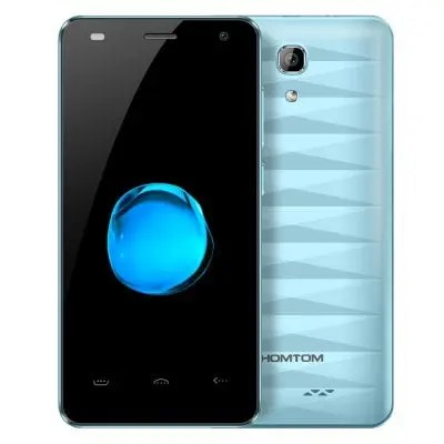 gearbest HOMTOM HT26 MTK6737 1.3GHz 4コア LIGHT BLUE(ライトブルー)
