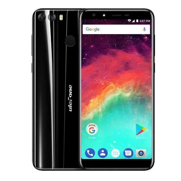 banggood Ulefone MIX 2 MTK6737 1.3GHz 4コア BLACK(ブラック)
