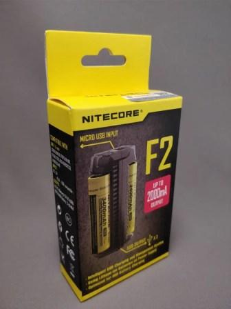 NITECORE F2 化粧箱 斜め