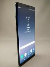 Galaxy note 8 表 ブラック 8