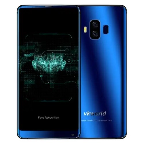 tomtop vkworld S8 MTK6750T 1.5GHz 8コア BLUE(ブルー)
