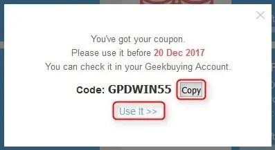 GeekBuying 最大50%オフ ビッグクーポンコピー