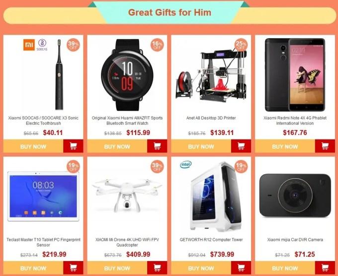 GearBest 感謝祭がやってくる 最大60%オフ 特設ページ4