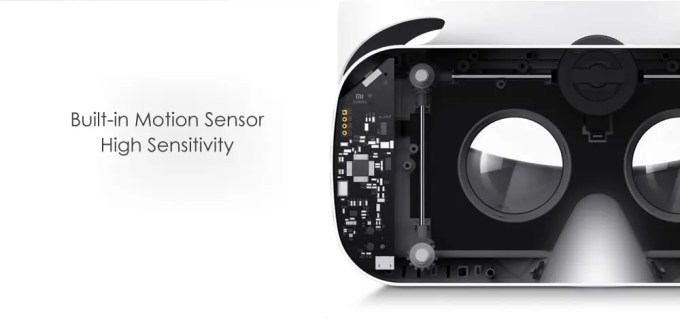 Xiaomi VR 3D Glasses ダイヤル