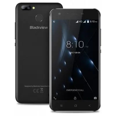 gearbest Blackview A7 Pro MTK6737 1.3GHz 4コア BLACK(ブラック)