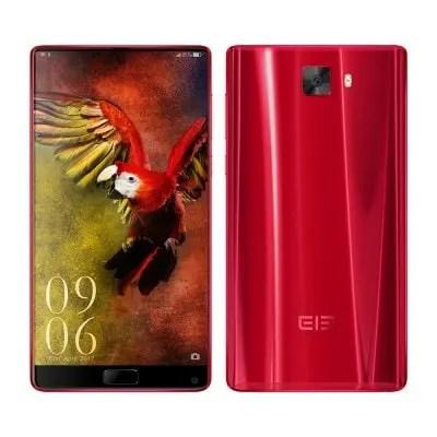 gearbest Elephone S8 MTK6797 Helio X25 2.5GHz 10コア RED(レッド)