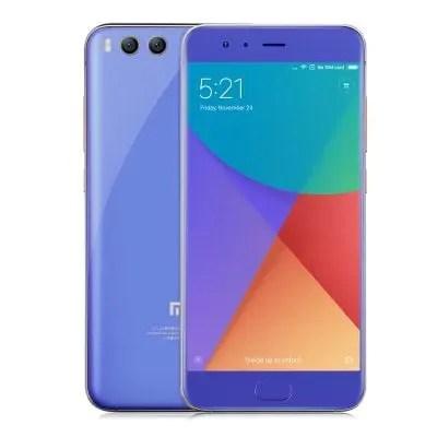 gearbest Xiaomi Mi6 Snapdragon 835 MSM8998 2.35GHz 8コア BLUE(ブルー)