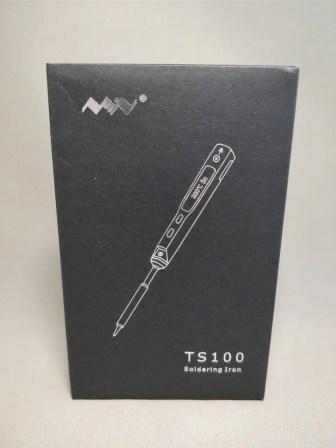MINI TS100 ハンダゴテ 化粧箱