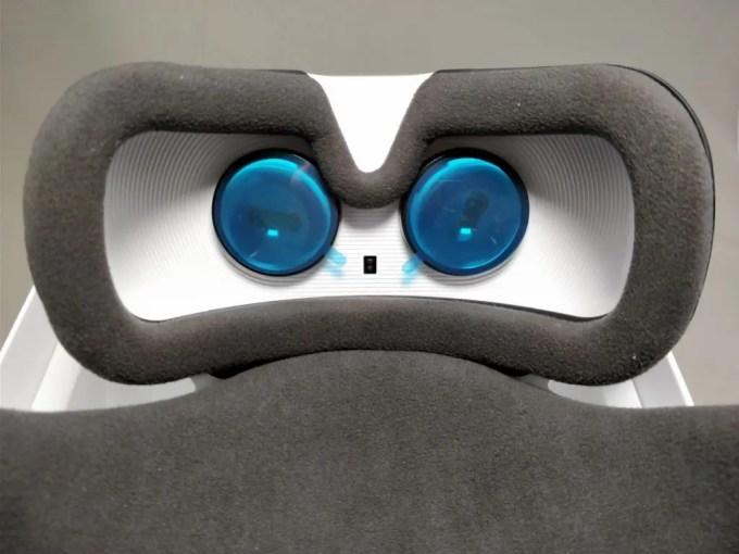 Xiaomi VR 3D Glasses  センサー