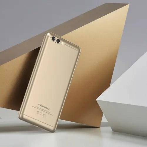 tomtop MEIIGOO M1 MTK6757CD Helio P25 2.5GHz 8コア GOLD(ゴールド)