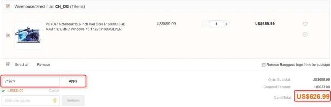 VOYO i7 Notebook 15.6 Inch Intel Core I7 6600U 8GB RAM 1TB