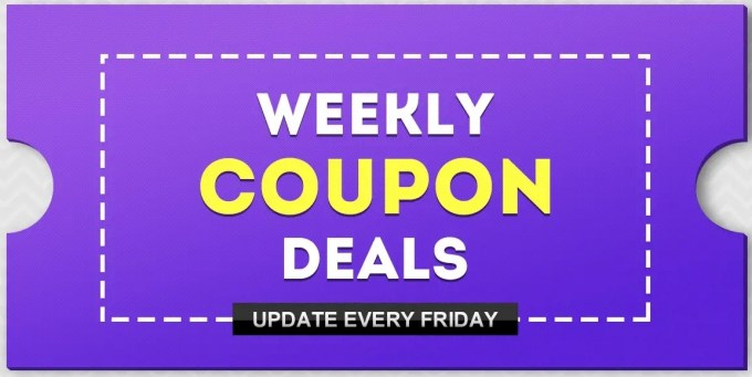 Banggood Weekly Coupon Deals