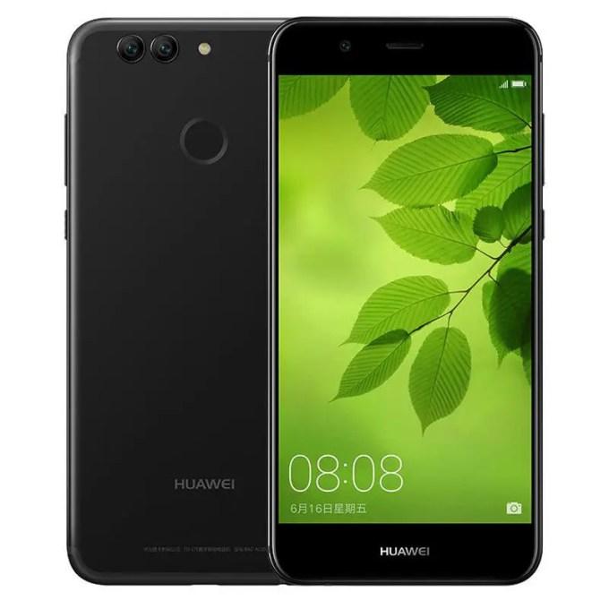 banggood HUAWEI Nova 2 (PIC-AL00) Kirin 659 2.36GHz 8コア BLACK(ブラック)