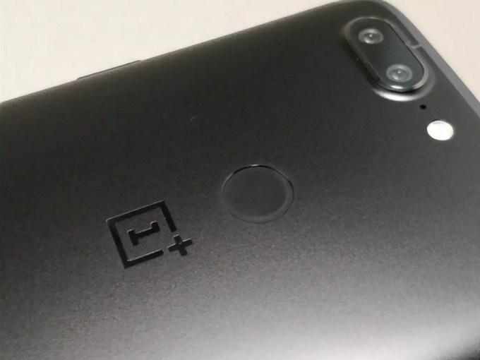 OnePlus 5T 裏面 ライトアップ