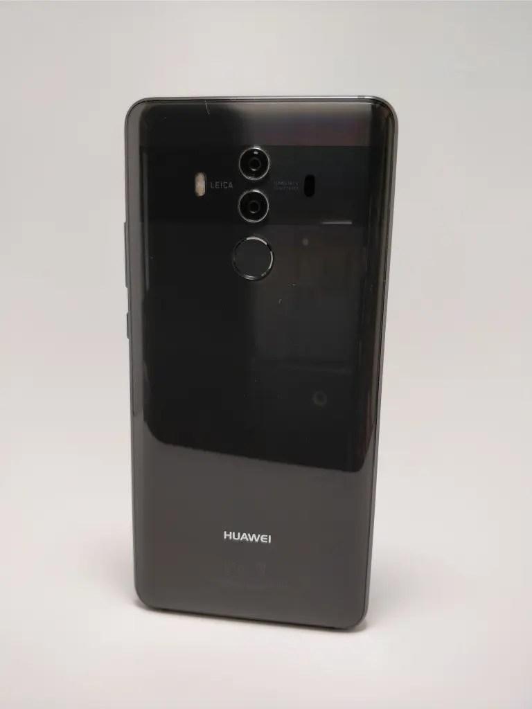 Huawei Mate 10 Pro 裏 10