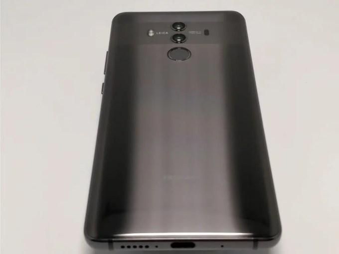 Huawei Mate 10 Pro 裏面 下