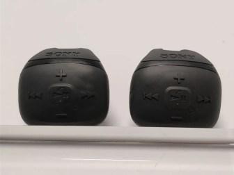 防水ウォークマン NW-WS625 NWZ-WS613と比較 指輪型リモコン 正面