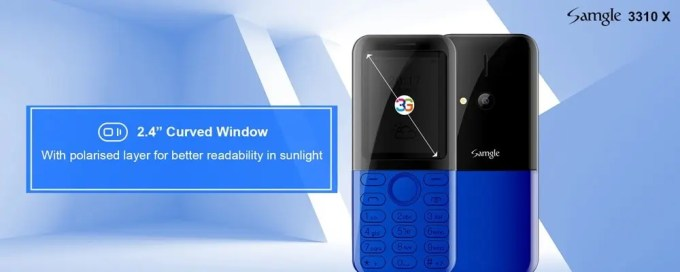 Samgle 3310 X 3G  商品画像 3