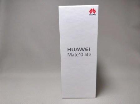 Huawei Mate 10 Lite 化粧箱