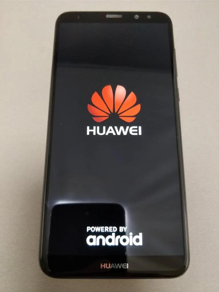 Huawei Mate 10 Lite 起動 1