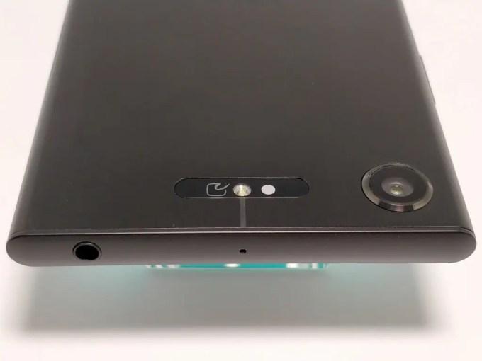Sony Xperia XZ1 裏 カメラ2