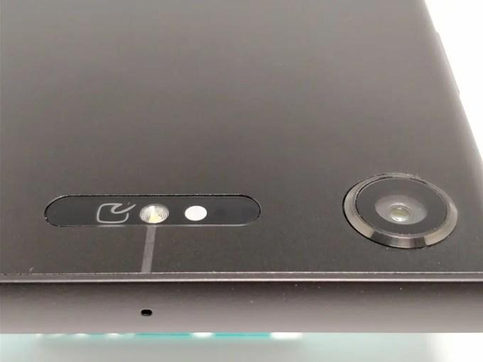 Sony Xperia XZ1 裏 カメラ