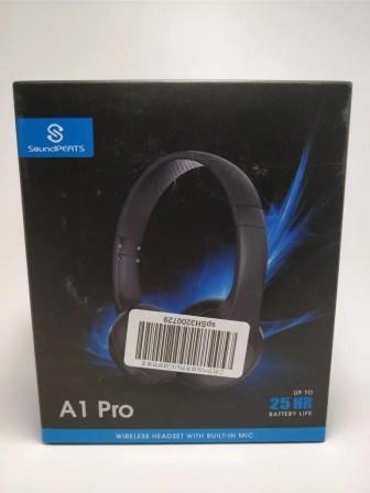 SoundPEATS A1 Pro 化粧箱 表