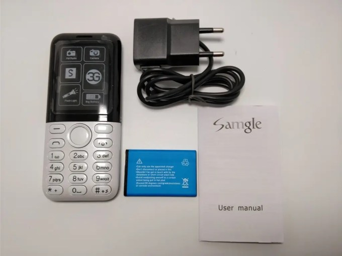 Samgle 3310 X 3G  セット