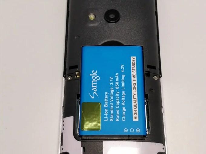 Samgle 3310 X 3G  バッテリー セット