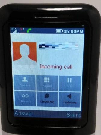 Samgle 3310 X 3G 電話