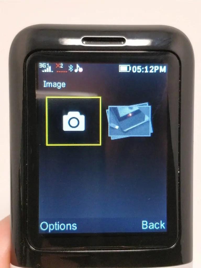 Samgle 3310 X 3G カメラ フォルダ2