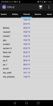 Huawei Mate 10 Pro CPU-Z5