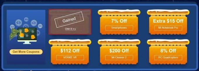 GeekBuying 春節セール 最大90%オフ 特設ページ クーポン